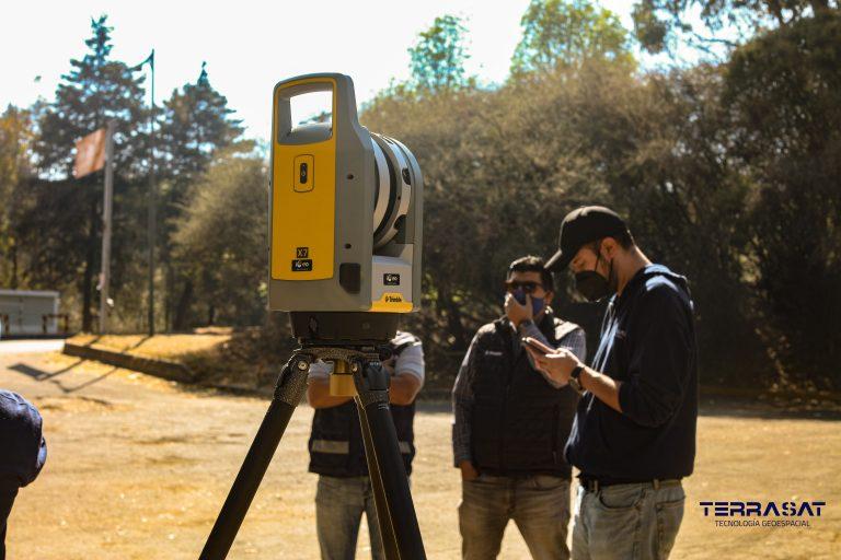 ESCANER 3D LIDAR TERRASAT